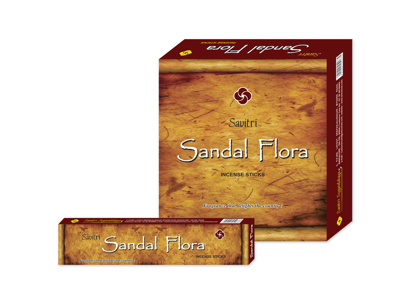 Sandal Flora_medium Box