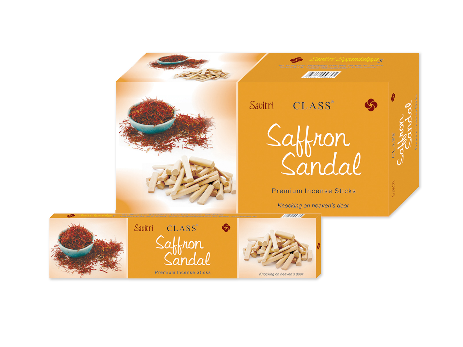 Saffron Sandal _medium Box